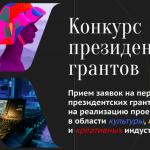 В Президентский фонд культурных инициатив поступило более 12 тысяч заявок на гранты
