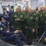 Шойгу осмотрел новейшие российские разработки, представленные на форуме «Армия-2021»