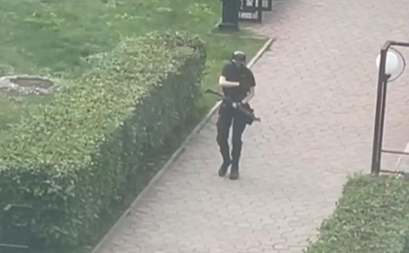 Студент устроил стрельбу в Пермском государственном университете