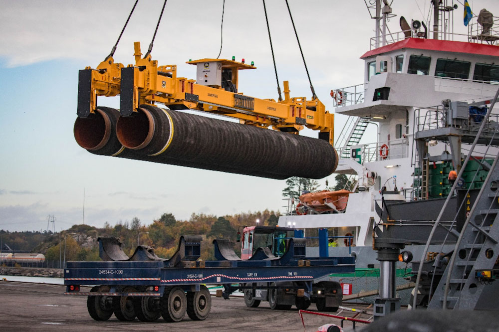 «Газпром»: строительство «Северного потока —2» полностью завершено