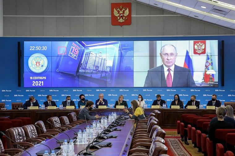 На всей территории России началось голосование на выборах в Госдуму РФ