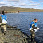 В Мурманской области волонтеры собрали 50 тонн мусора в рамках проекта «Чистая Арктика»