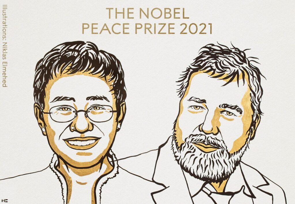 Главред «Новой газеты» Дмитрий Муратов стал лауреатом Нобелевской премии мира