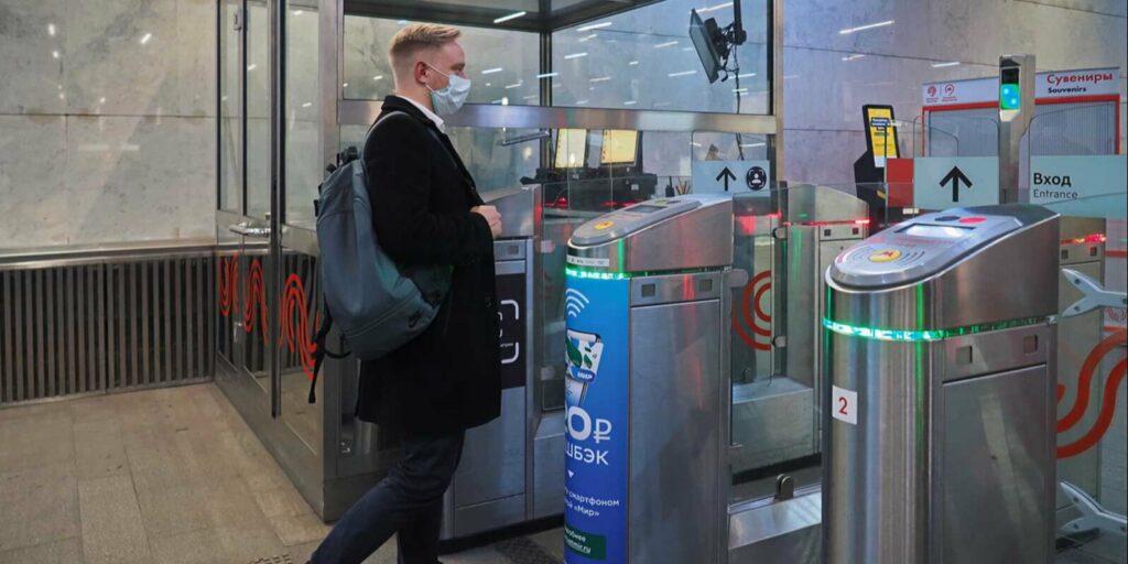 Система FacePay заработала на всех станциях метро Москвы
