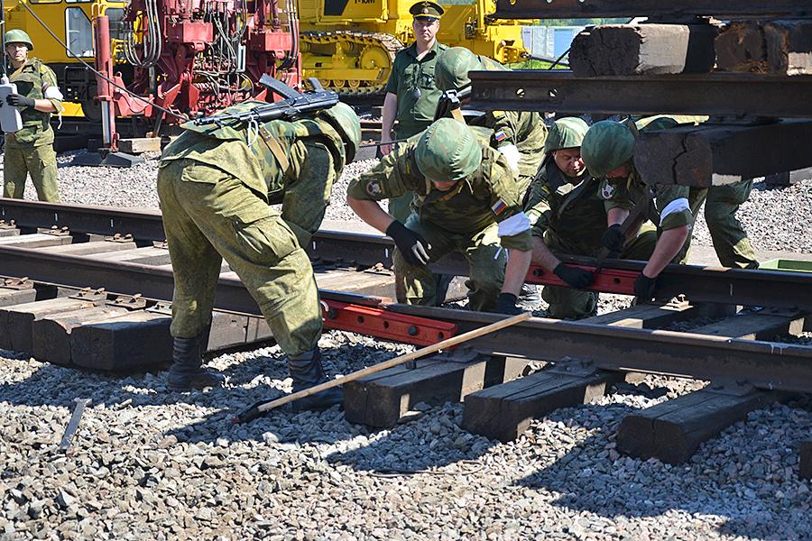Штат железнодорожных войск для расширения БАМа увеличат в два раза